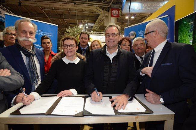 Signature fond agricole région Sud